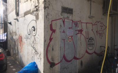 Graffiti verwijderen Arnhem